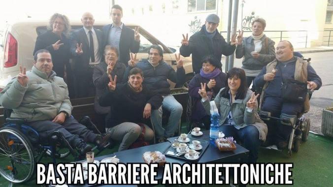 Basta barriere architettoniche